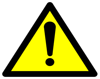 Prop 65 warning icon