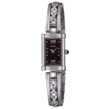 Women's Cabochon Crown Watch