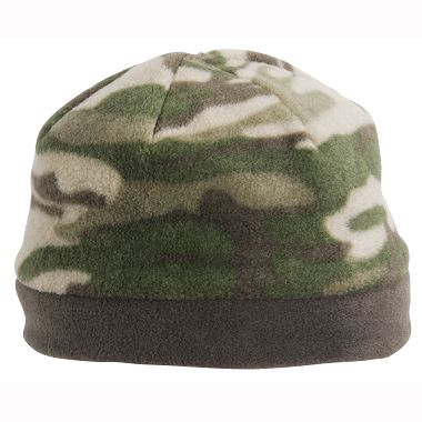 Youth Camo Mountain Beanie