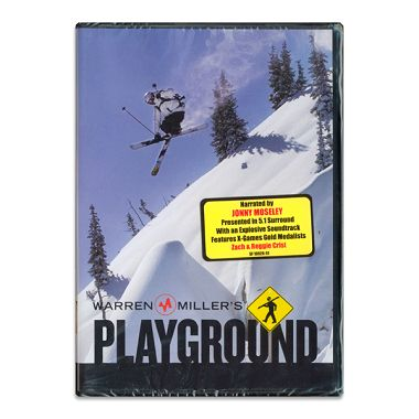 Warren Miller`s Playground Ski DVD