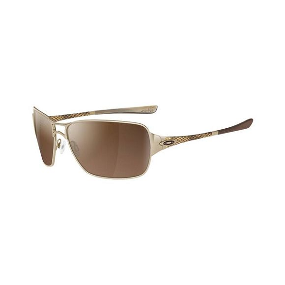 Oakley Gold Frame Sunglasses : OAKLEY Women`s Impatient Sunglasses: Polished Gold Frame ...