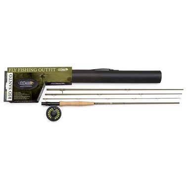 Rio Santo Series 8ft, 4 Piece Fly Rod/Reel Outfit (4wt)