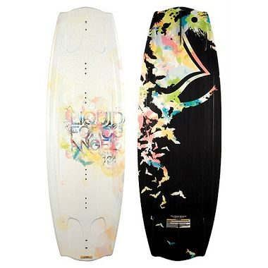 Angel Wakeboard and Plush Binding Combo