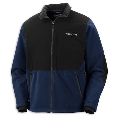 Mens Titanium Ballistic Windproof Fleece Jacket (Discontinued)