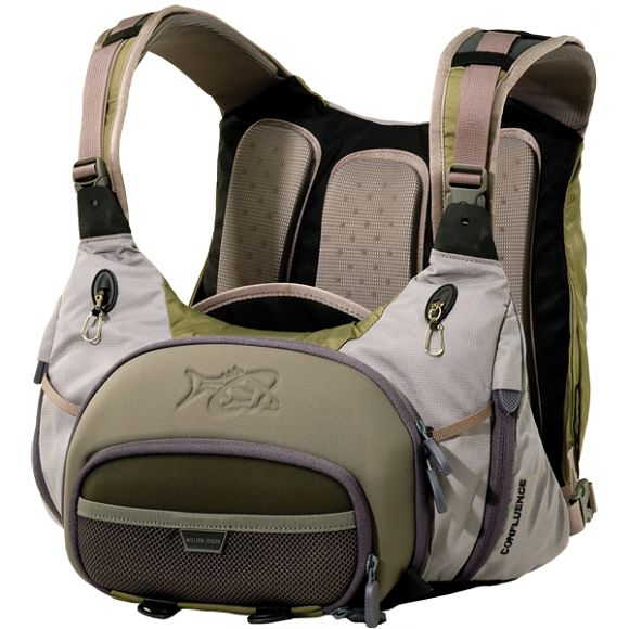 Gear review william joseph confluence chest pack for Fishing chest pack