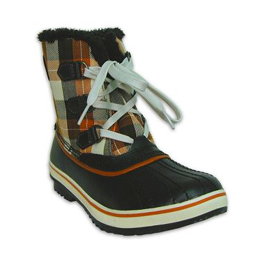 Girls Youth Tivoli Plaid Snow Boot