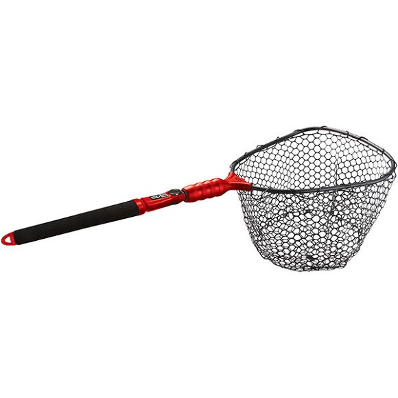 Ego s2 slider compact landing net for Rubber fishing nets