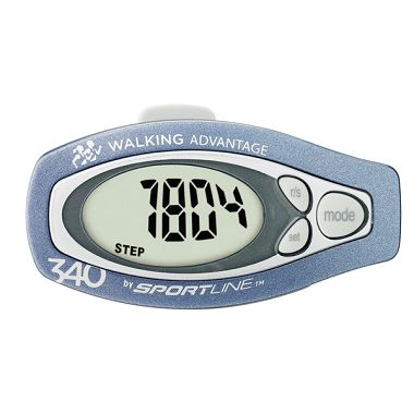 340 Step and Distance Pedometer