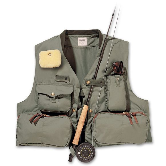filson fly fishing vest