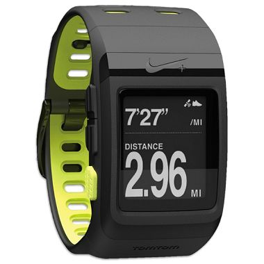 + SportWatch GPS powered by TomTom