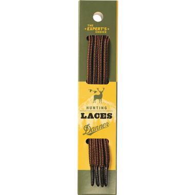 Black and Tan Boot Laces (84 Inch)
