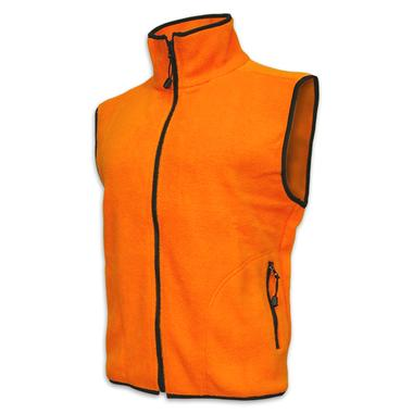 Youth Blaze Orange Fleece Vest