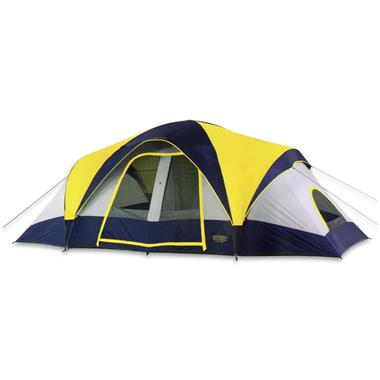 Sierra Pass 2 Room Family Dome Tent