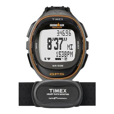Ironman Run Trainer GPS with Heart Rate Monitor Digital Watch