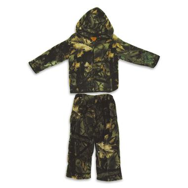 Toddler Camo Fleece Jacket/Pant Set