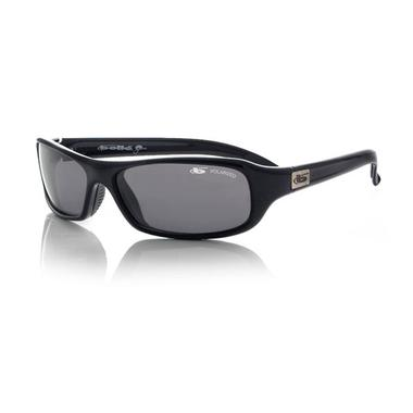 Fang Sunglasses (Shiny Black/Polarized TNS)