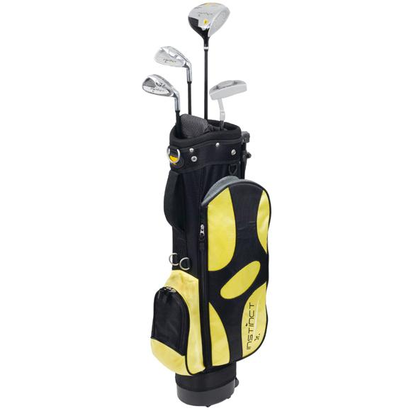 nicklaus golf instinct 6 piece junior golf set ages 9 12. Black Bedroom Furniture Sets. Home Design Ideas