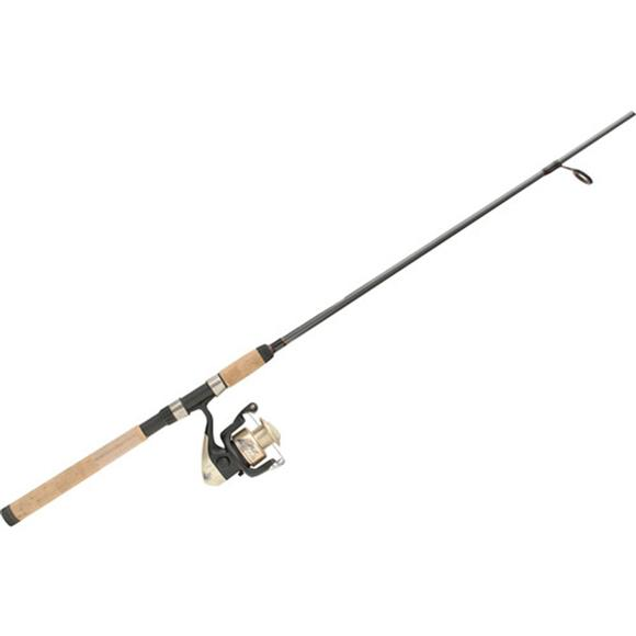 Zebco 33 spincast combo 2 piece fishing rod 5 39 6 39 for 2 piece fishing rod