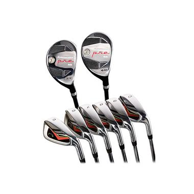 Pre Hybrid Set: 3 and 4 Hybrid, 5 - PW Irons