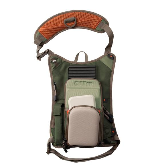 The allan co green river mag ul chest pack for Fishing chest pack