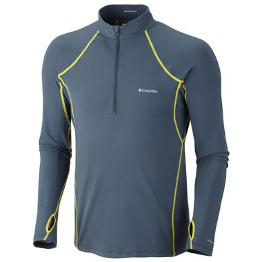 Men`s Baselayer Midweight Long Sleeve 1/2 Zip