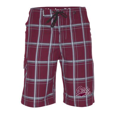 Mens University of Montana Griz Puerto Rico Boardshorts