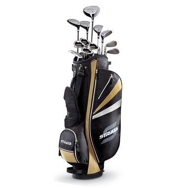 Mens Strata Plus 18-Piece Golf Set