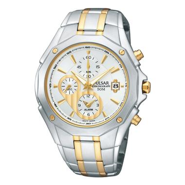 Mens Two Tone Chronograph Watch PF3960
