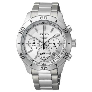 Mens Classic Chronograph Bracelet Watch (SSB047P1)