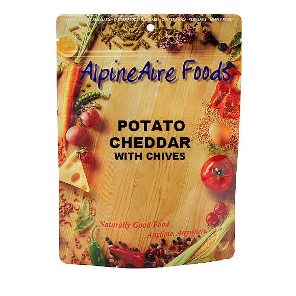 ... gear stoves and cooking gear food potato and cheddar with chives