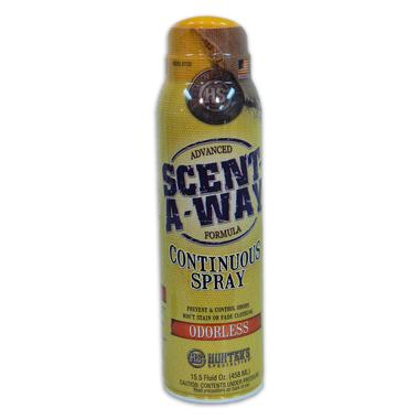 Scent-A-Way Continuous Spray: Odorless