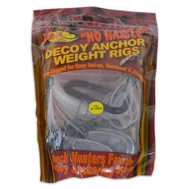 No Hassle Decoy Anchor Weight Rigs