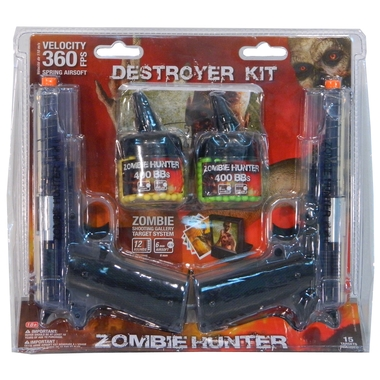 Zombie Destroyer Airsoft Kit