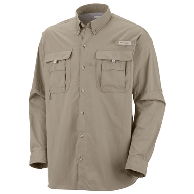Mens Bahama II Long Sleeve Shirt