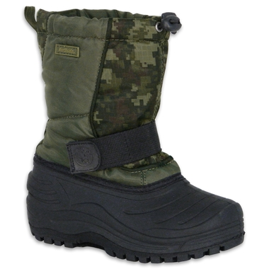 Youth Camo Storm Winter Boots