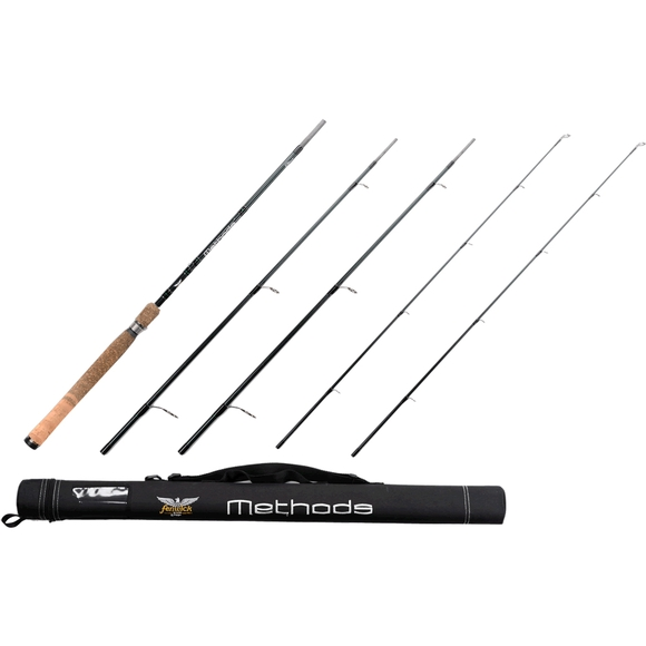 Fenwick methods pack spinning rod 6 foot 8 inch 3 piece for 3 piece fishing rod