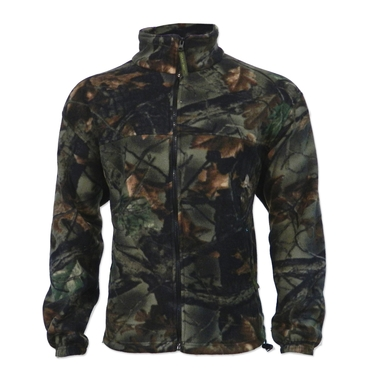 Men's Poly Fleece Camo Sherpa Jacket
