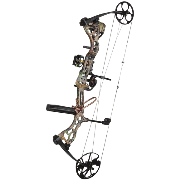 Fred bear archery attitude ready to hunt 29 quot 70 compound bow kit