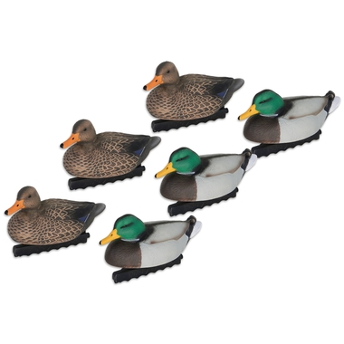 Beretta Special Mallard Float Decoys with Carry Bag (6 Pack)