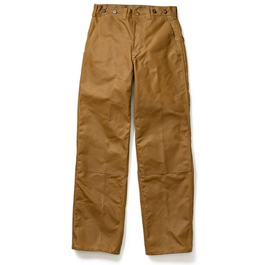 Mens Oil Finish Double Tin Cloth Pants