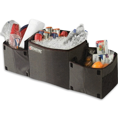 Cool-N-Carry Folding Trunk Organizer with Insulated Cooler