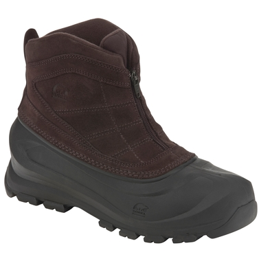 Mens Cold Mountain Zip Winter Boots
