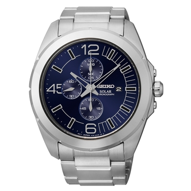 Mens Solar Core Chronograph Watch (SSC201)
