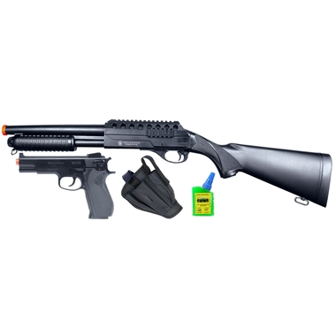 Smith and Wesson On Duty Airsoft Shotgun/Pistol Kit