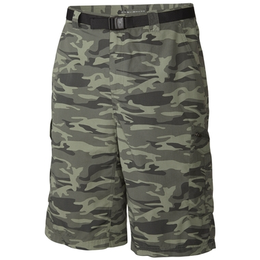 Mens Silver Ridge Printed Cargo Short