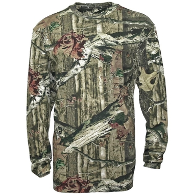 Youth Long Sleeve Camo Shirt