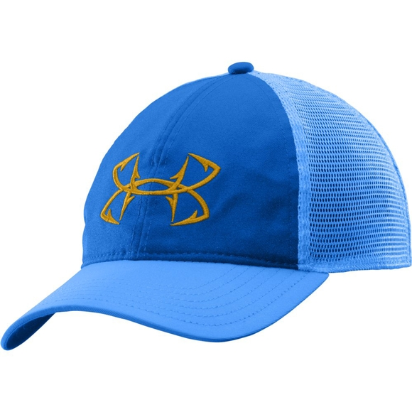 Under armour men s fish hook logo cap for Fishing logo hats