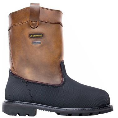 Men`s Highwall Wellington 11 in. Work Boots