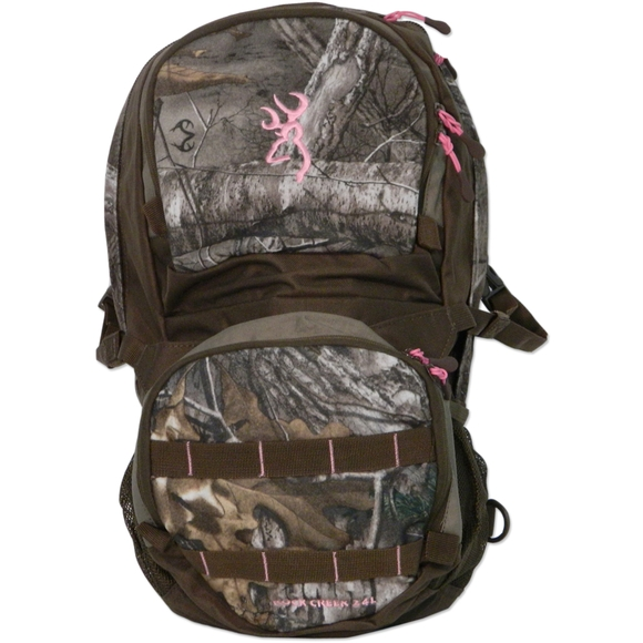 Browning women s rock creek 24l backpack for Browning fishing backpack