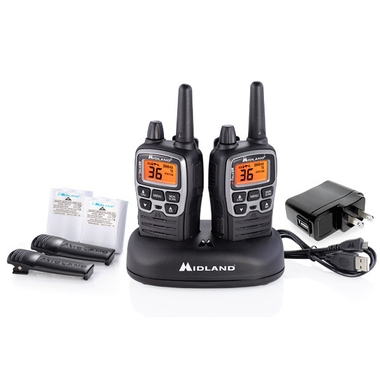 T71VP3 36 Channel X-Talker Two-Way Radios